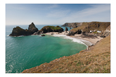 Kynance Cove at low tide